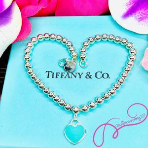 """Tiffany & Co. Jewelry - NWOT T&Co. Return to Tiffany Bead Bracelet, 7.25"""""""